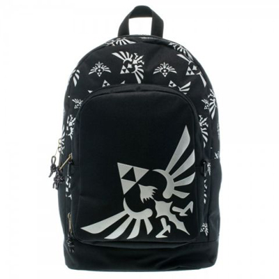 Zelda Skyward Sword Triforce Gray Backpack