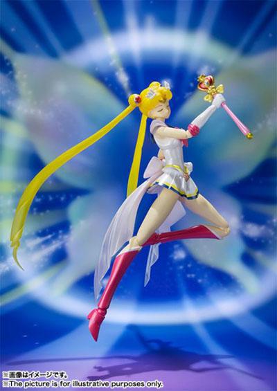 Sailor Moon Super Sailor Moon S.H.Figuarts Action Figure 3