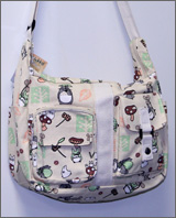 My Neighbor Totoro: Large Canvas Shoulder Bag