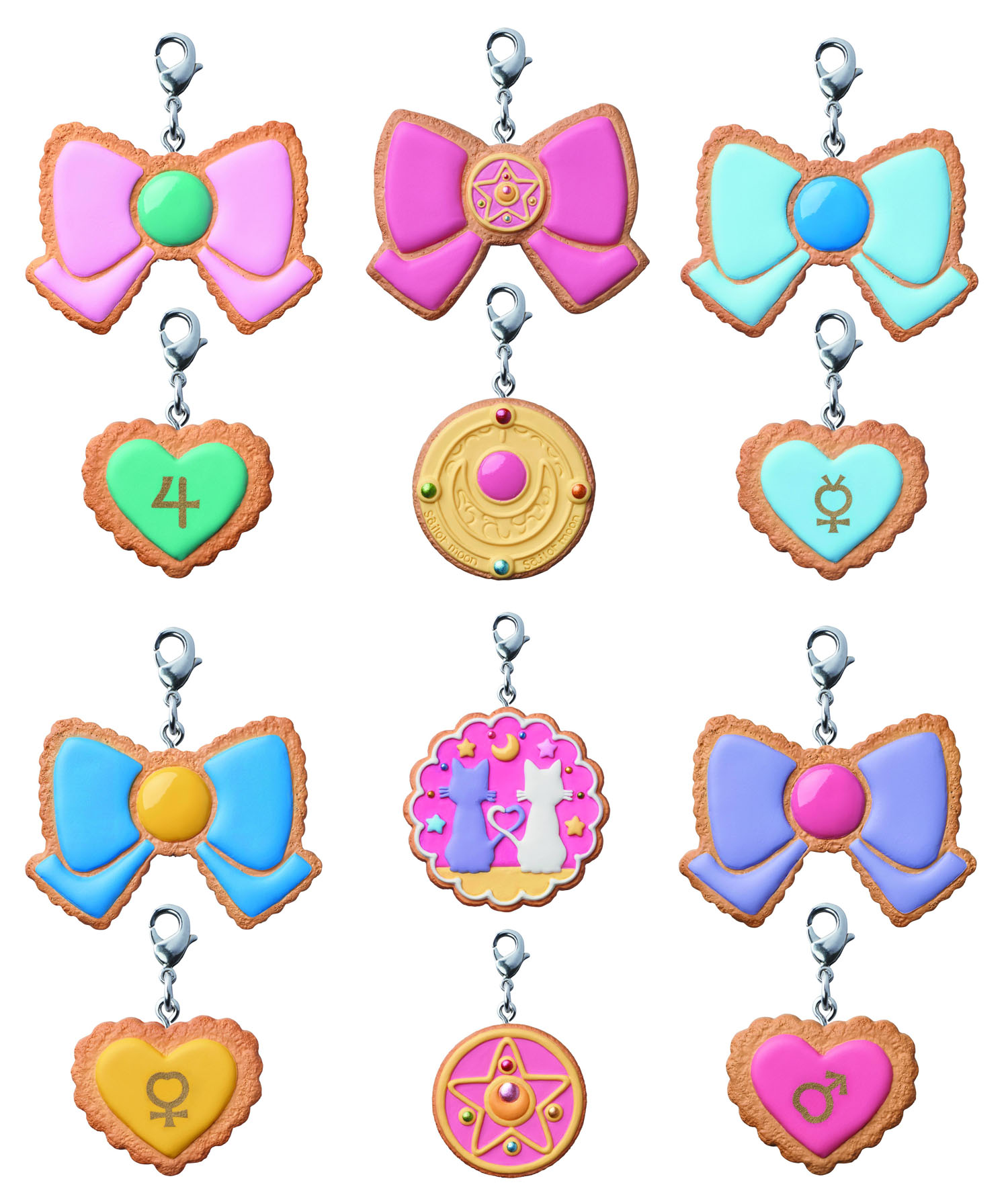 Sailor Moon Patisserie Cookie Charm Set