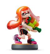 amiibo Inkling Girl Splatoon