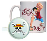 One Piece Luffy Molded Bottom Mug