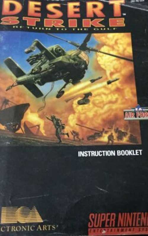 Desert Strike: Return to the Gulf (Instruction Manual)