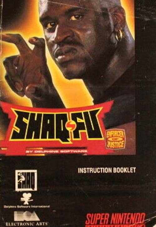 Shaq-Fu (Instruction Manual)