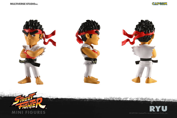 Street Fighter Ryu Mini 4 Inch Figure