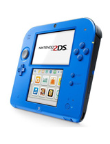 Nintendo 2DS System Electric Blue 2 Edition