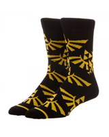 Legend of Zelda Large All over Print Crew Socks