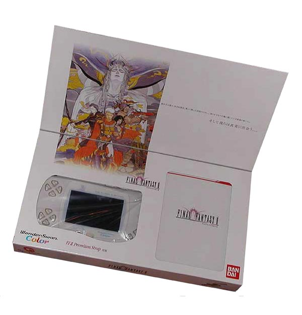 Bandai Wonderswan Color Final Fantasy II Bundle
