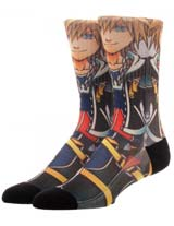 Kingdom Hearts Sora Sublimated Crew Socks