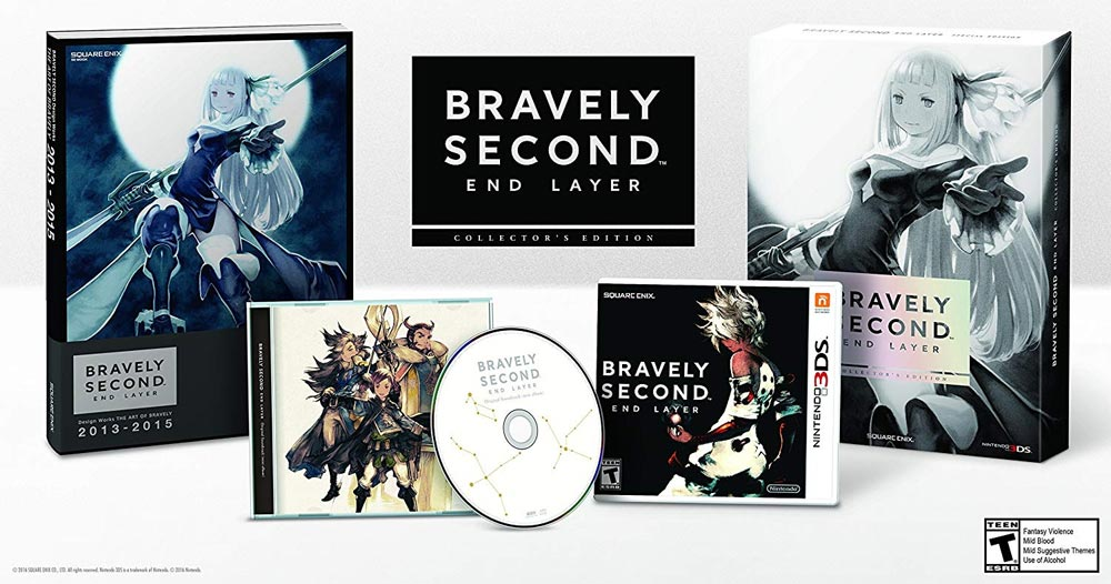 Contents of Bravely Second End Layer Collector's Edition