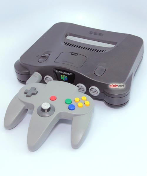 Nintendo 64 with 4MB Expansion Pack Refurbished System - Grade A