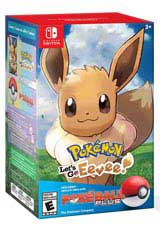 Pokemon: Let's Go Eevee! & Poke Ball Plus Pack
