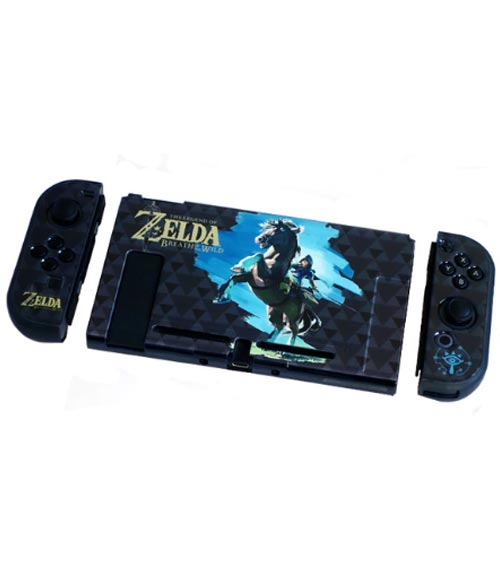 Nintendo Switch Zelda Breath of the Wild Link (Rider) Protective Cover Shell