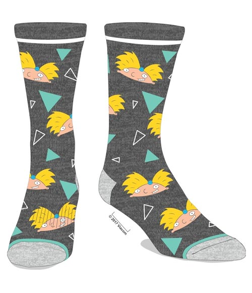 Hey Arnold All Over Print Crew Socks