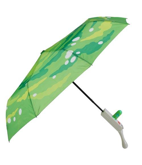 Rick & Morty Portal Gun Compact Umbrella