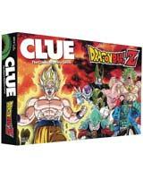 Clue Dragon Ball Z Board Game