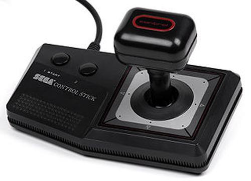 Sega Master Control Stick by SEGA