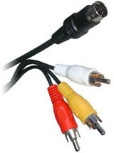 Saturn 6FT AV Cable