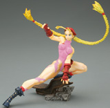 Capcom Girls Collection: Fighting Cammy Pink Figure