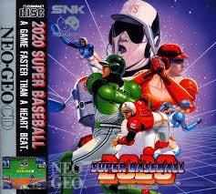 Super Baseball 2020 Neo Geo CD