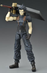 Final Fantasy Crisis Core Play Arts Zack Fair Action Figure