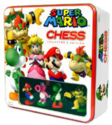 Super Mario Bros Collectors Edition Chess Set