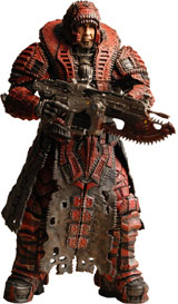Gears of War 2 Series 4 Marcus Fenix Theron Disguise Action Figure
