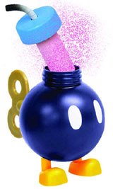 Super Mario Bomb-omb Candy Dispensers Box of 12