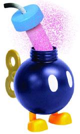 Super Mario Bomb-omb Candy Dispensers Box of 12