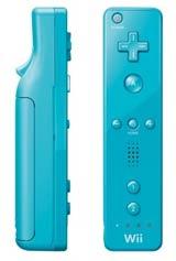 Nintendo Wii Blue Remote by Nintendo