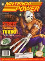 Nintendo Power Volume 51 Street Fighter II Turbo