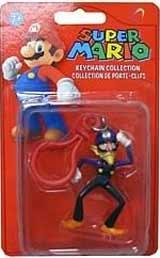 Super Mario Keychain Collection Waluigi