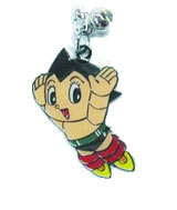 Astro Boy: Stamped Keychain Flying