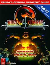 Mortal Kombat 4 Official Strategy Guide