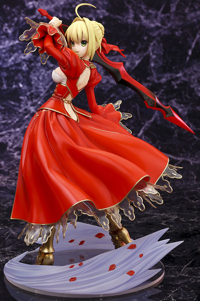 Fate/Extra Red Saber 9 Inch 1/7 Scale Ani-Statue