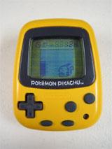 Pokemon Pikachu Yellow Virtual Pet Tamagochi