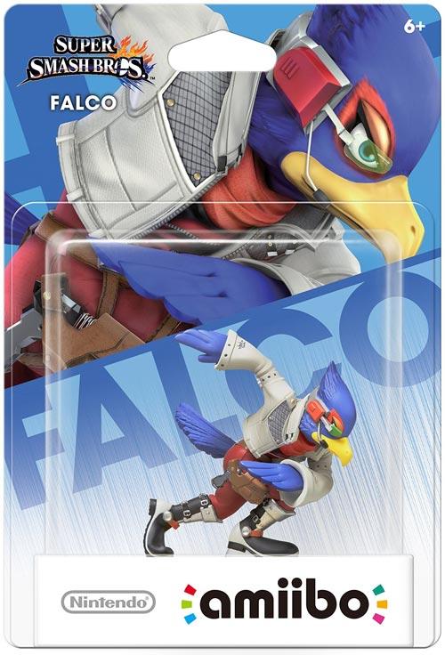amiibo Falco Super Smash Bros.