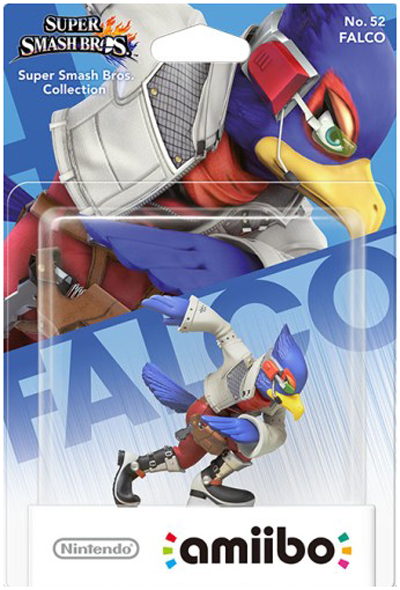 amiibo Falco Super Smash Bros.