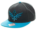 Legend of Zelda Skyward Sword Turquoise Snapback Cap