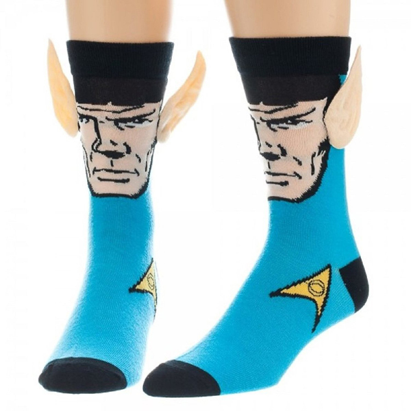 Star Trek Spock Crew Socks with Ears