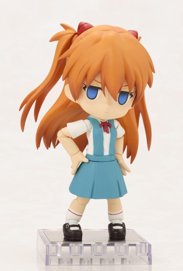 Evangelion 2.0 Asuka Langley CU-POCHE Figure
