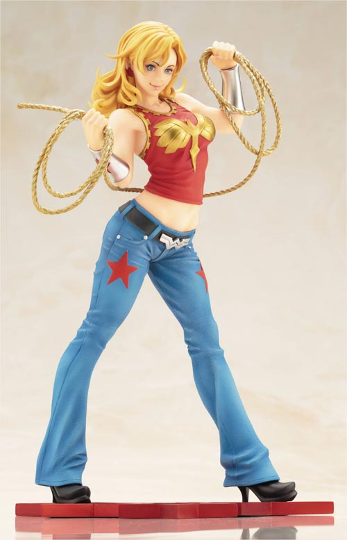 DC Comics Wonder Girl 9 Inch Bishoujo Statue