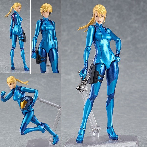 Metroid Other M Samus Aran Zero Suit Action Figure