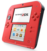 Nintendo 2DS System Crimson Red 2 Edition System Trade-In
