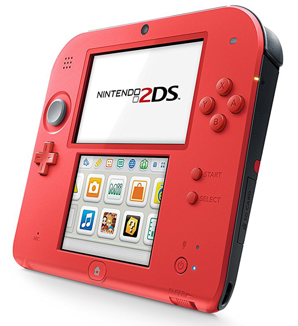 Nintendo 2DS System Crimson Red 2 Edition