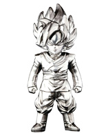 Dragon Ball Super Goku Black Absolute Chogokin Mini Figure
