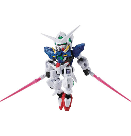 Mobile Suit Gundam NXEDGE Style Exia 4 Inch Figure
