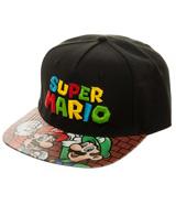Super Mario Bros. Printed Vinyl Flatbill Hat