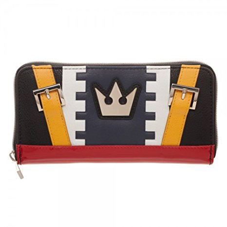 Kingdom Hearts Sora Cosplay Zip Around Wallet