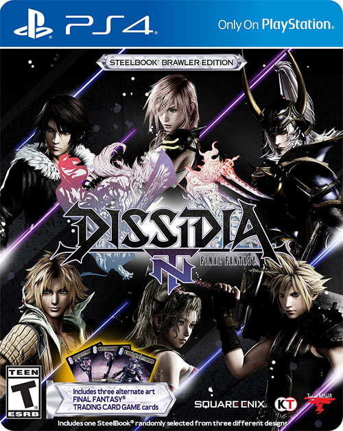 Dissidia: Final Fantasy NT Steelbook Limited Edition